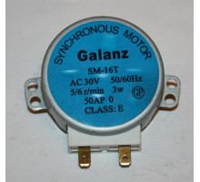 Двигатель вращения тарелки микроволновой печи Galanz SM-16T 30V