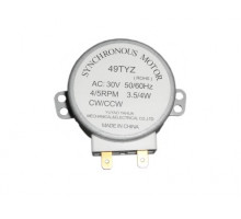 Двигатель вращения тарелки микроволновой печи 49TYZ