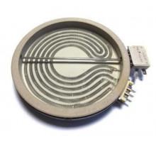 Электроконфорка для ст/керем плиты 1700W+700W D=200 мм