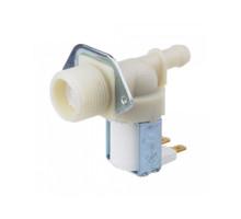 Клапан стиральной машины одинарный прямой WHIRLPOOL ,INDESIT ,CANDY 481981729013