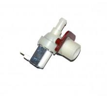 Клапан стиральной машины одинарный прямой Whirlpool ,Candy,481981729326